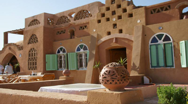 Отель в нубийском стиле