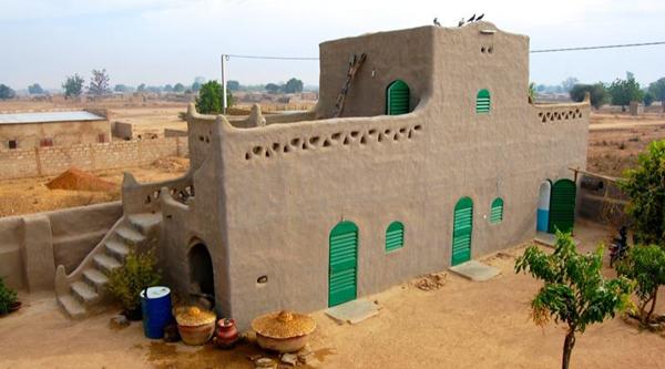 Nubia mud-brick house.