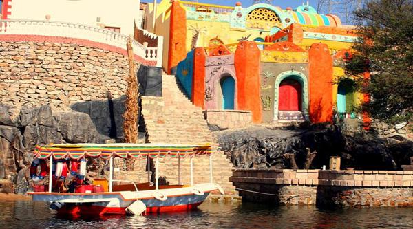 Nubian village.