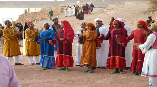 Nubian dancers.