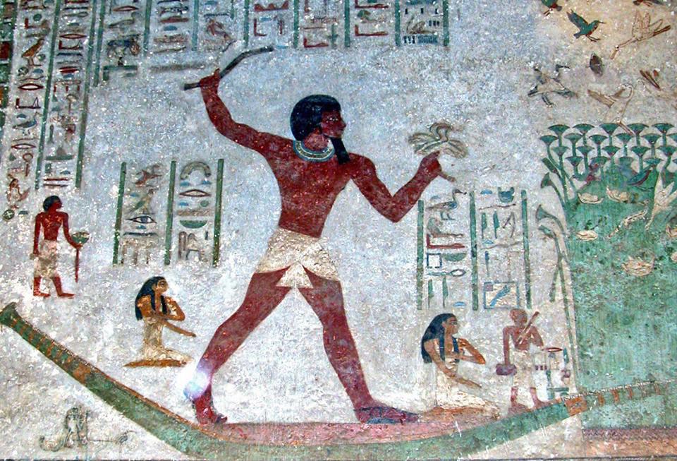 One of Beni Hasan tombs reliefs