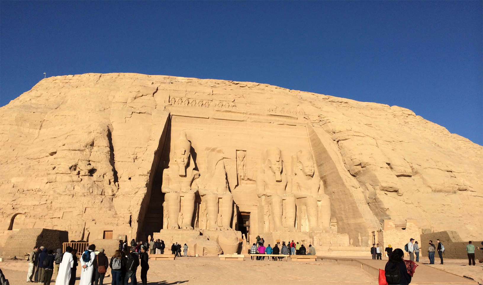 The Great Abu Simbel temple