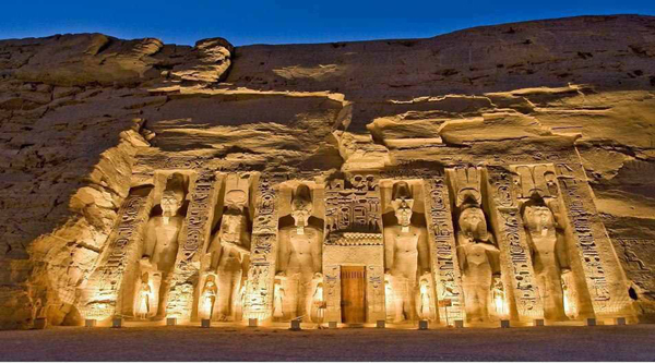 Nefertari temple at Abu Simbel.