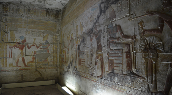 Chapel in Abydos temple