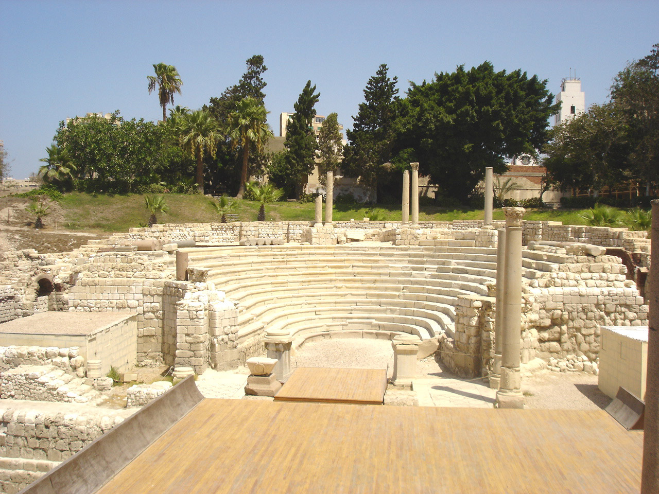 Roman Theater in Alexandria, Egypt