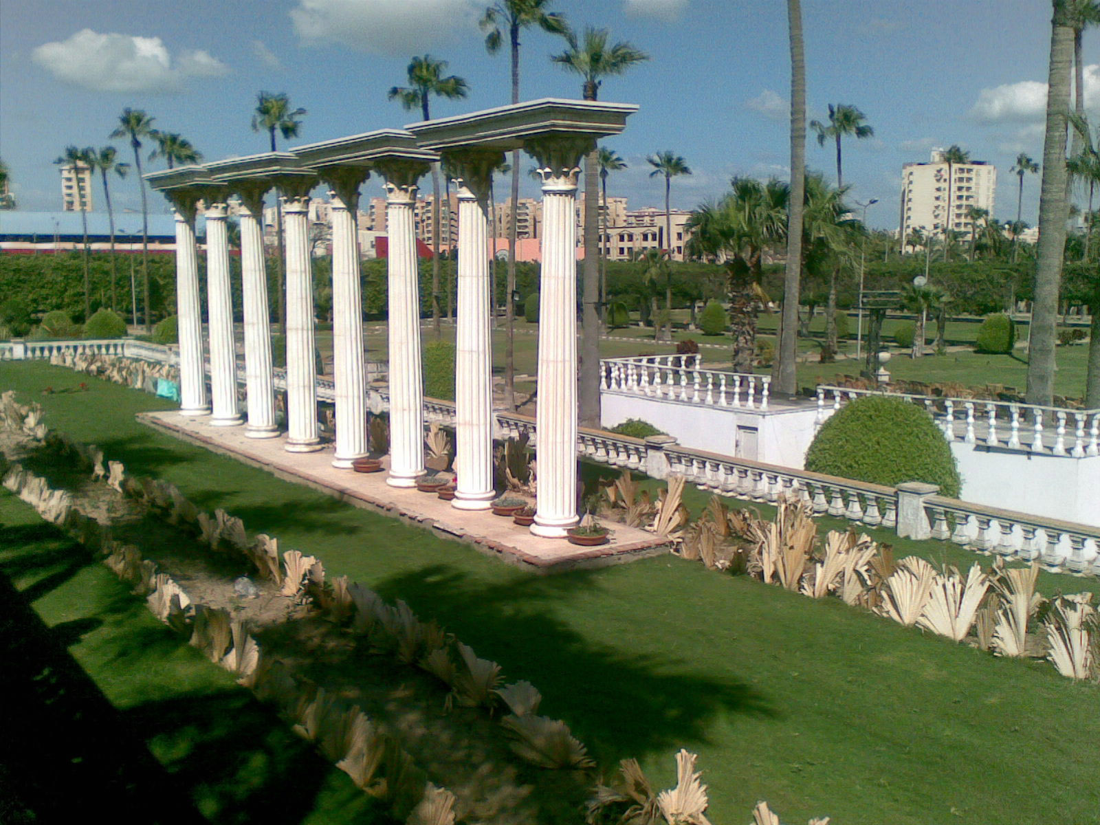 Antoniadies gardens in Alexandria, Egypt