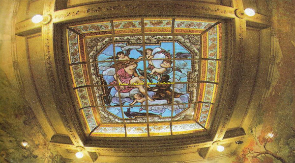 Ceiling of the Palace.