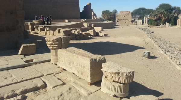 Some ruins on Philae island.