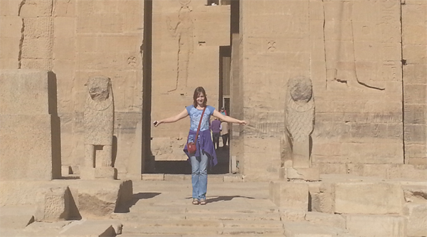 Philae island temple excursion