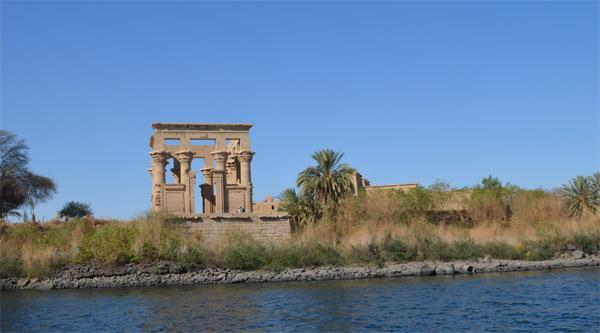 Chiosco di Troia sull'isola di Philae
