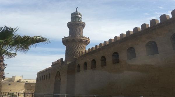 Минарет и стена мечети аль-Насир Мухаммеда