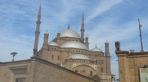 Mohammed Ali mosque in the Citadel