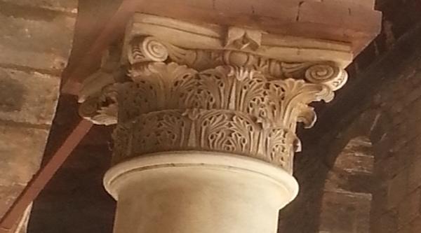 Corinthian style capital