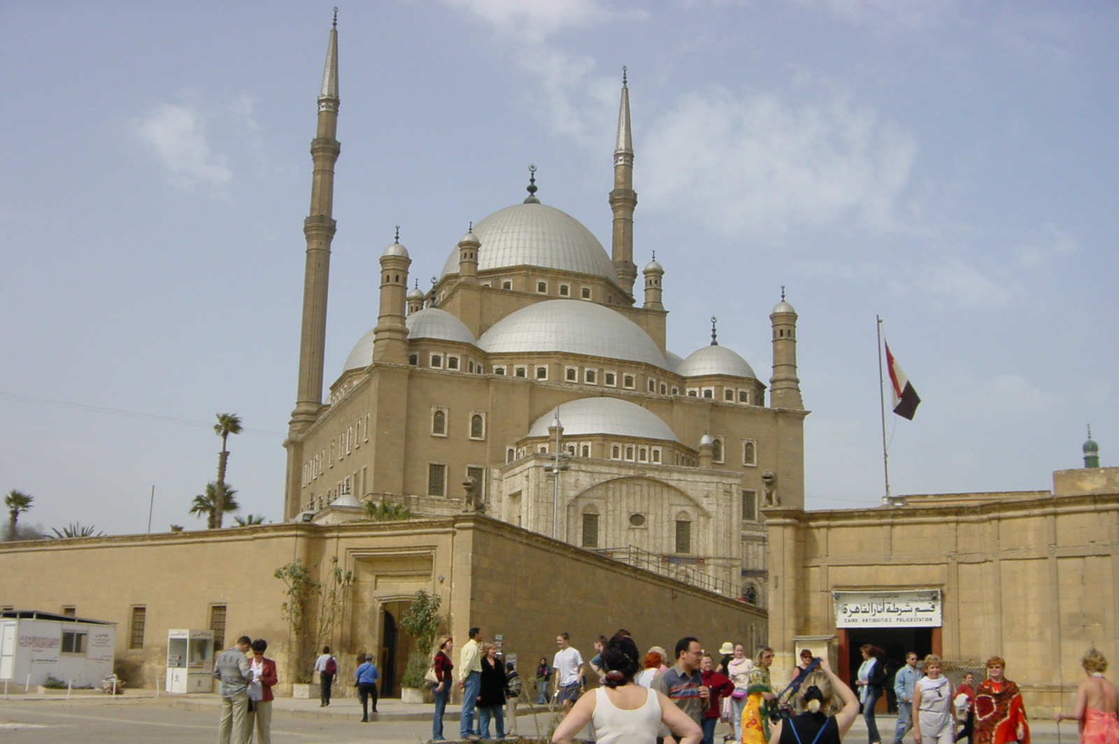 Mosque of Mohammed Ali in Cairo Citadel