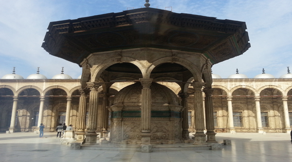 Sabil or fountain in the mosque of Mohammed Ali