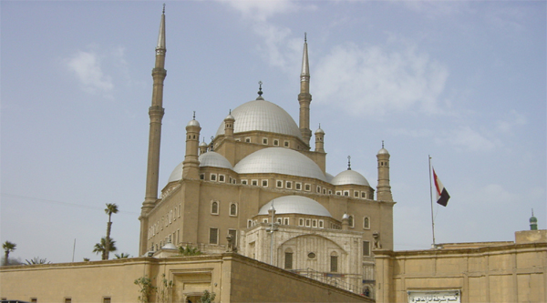 General view of Mohammed Ali mosque