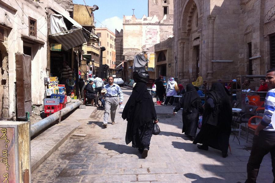 Walk inside Historic Cairo