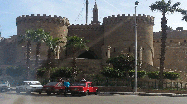 Bab al-Azab, gate to the Citadel.