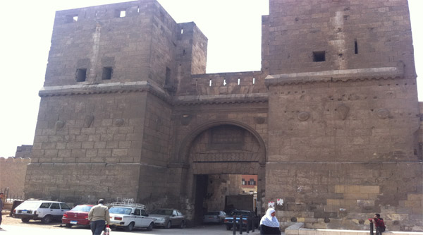 Bab al-Naser Cairo city gate.