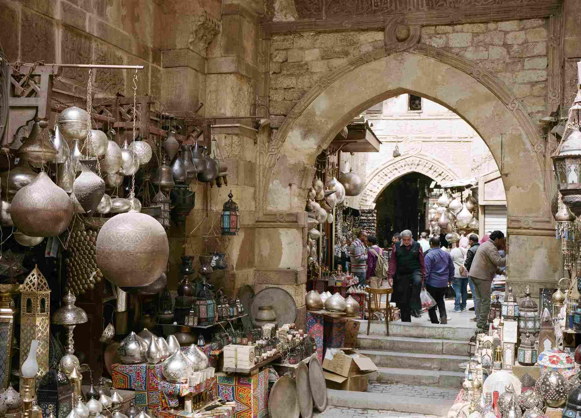 Восточный базар Хан-эль-Халили