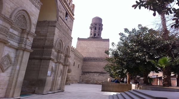 Минарет мечети аль-Хакима