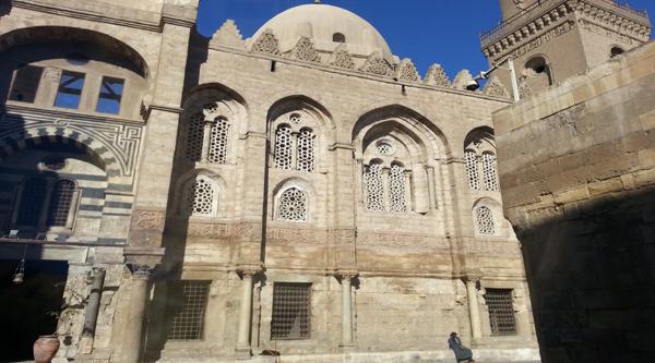 Фасад комплекса Султана Калауна