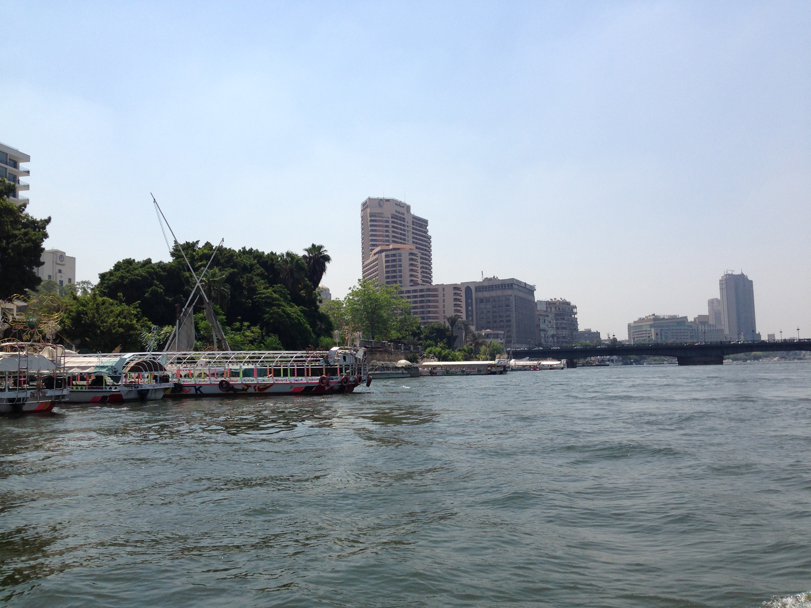 The River Nile in Cairo.