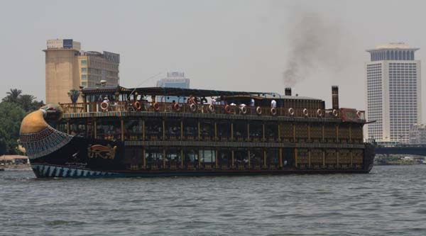 Stylish Nile boat