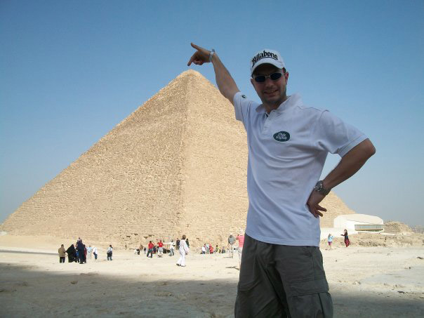At the pyramid of Khefren