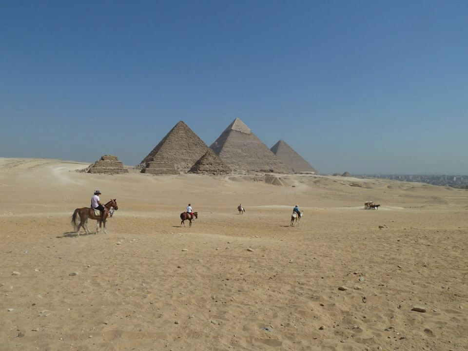 Horse riding tour at the Pyramids