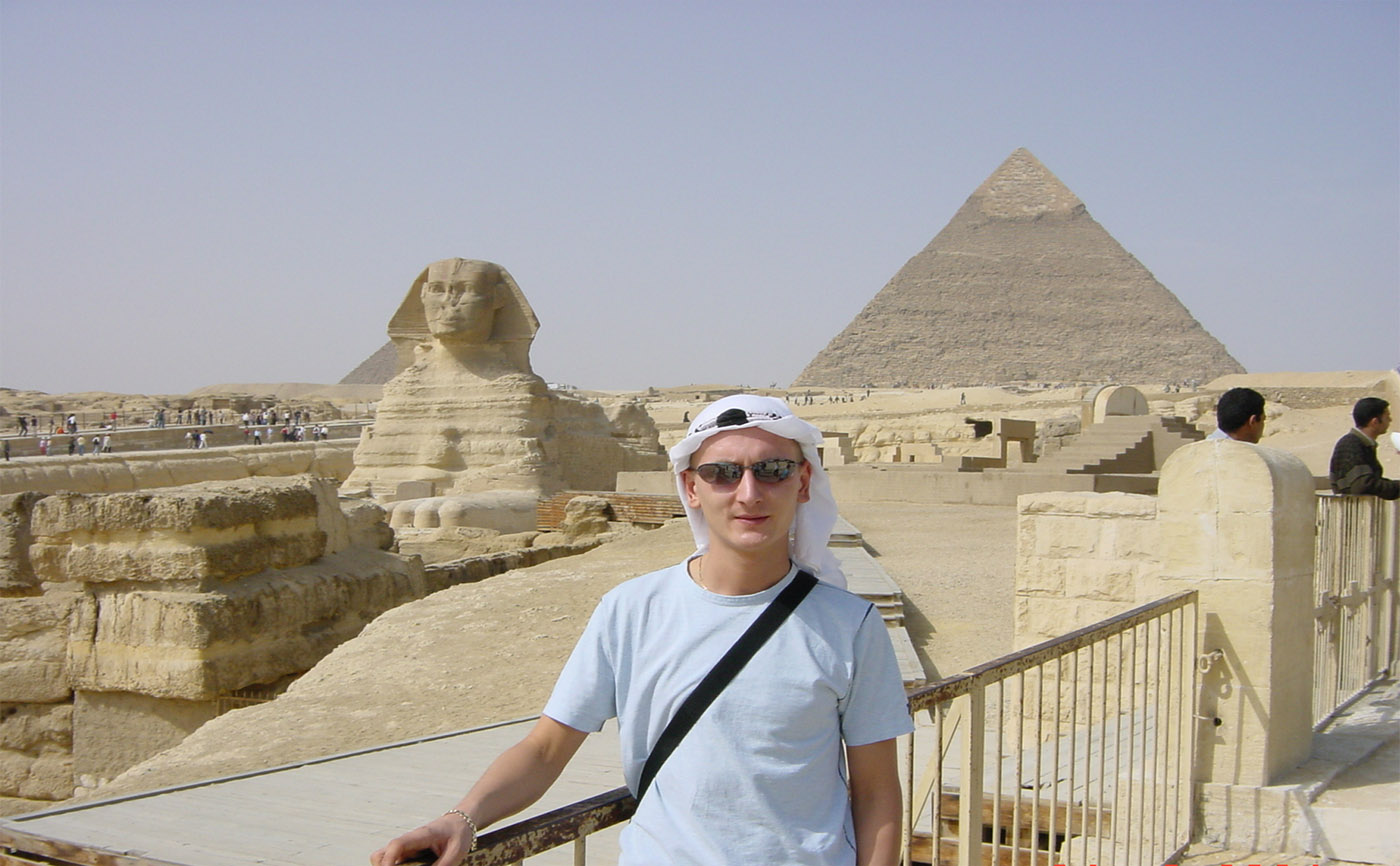 Great Sphink at the pyramids