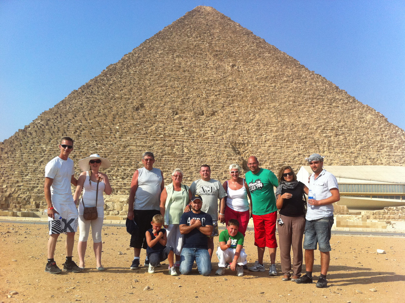 The Great Pyramid of Cheops excursion