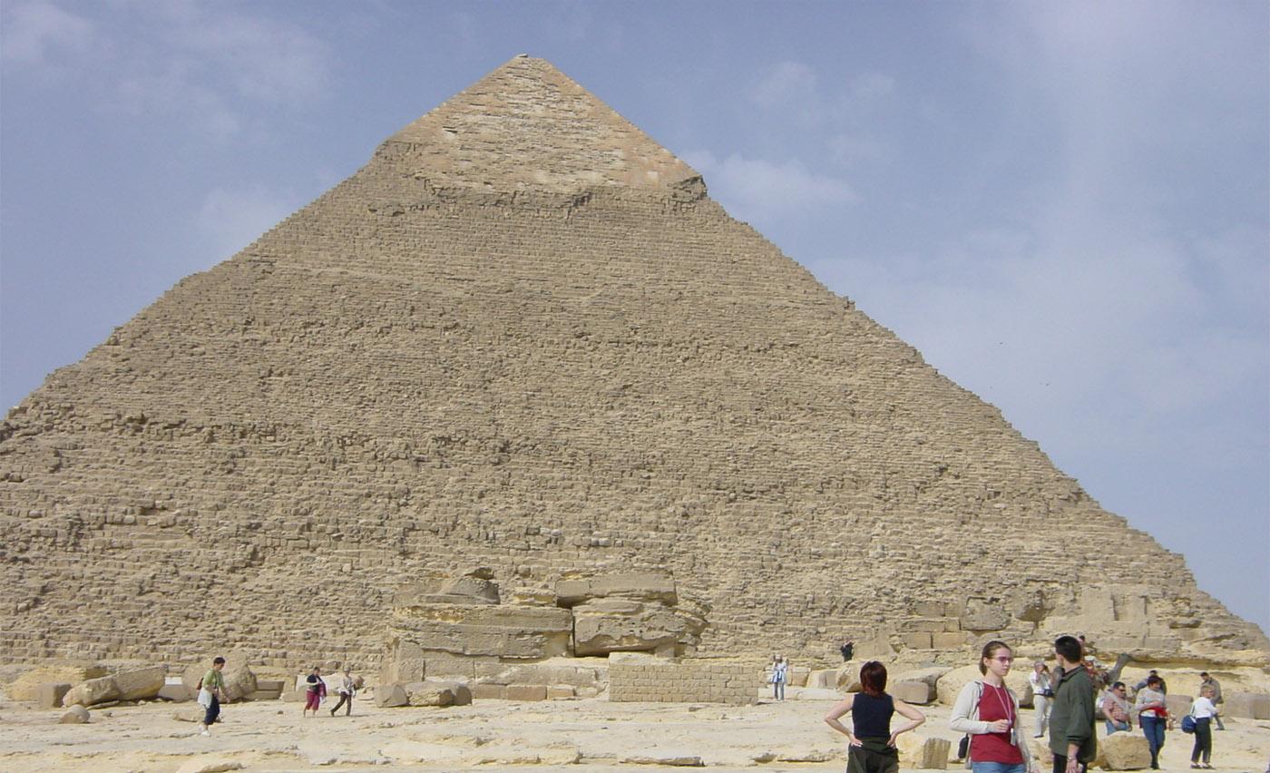 Пирамида Хефрена, Каир