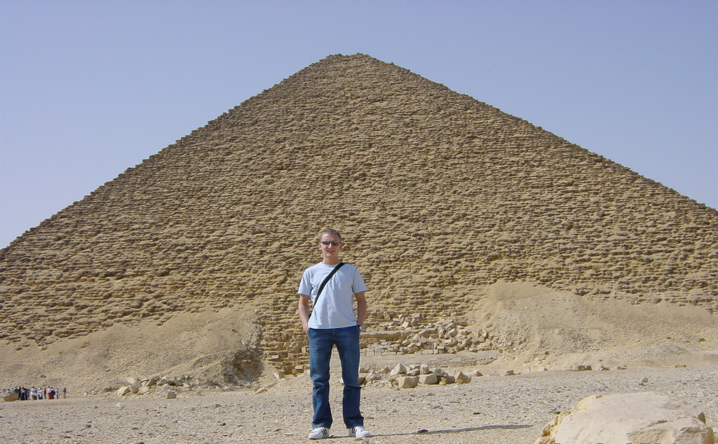 Excursion to the pyramid of Cheops