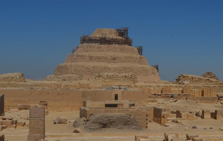 A la pyramide de Khefren