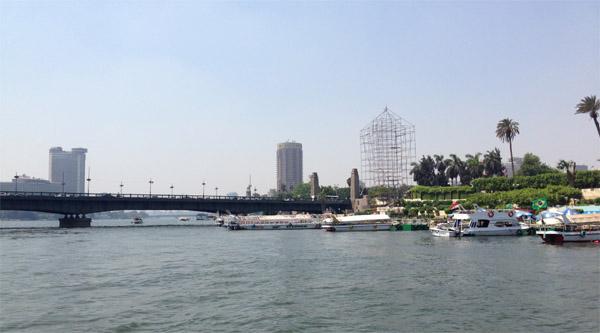 The Nile river.