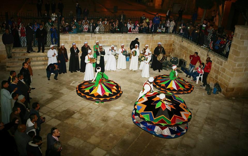 Sufi whirling Tanoura dance Egypt