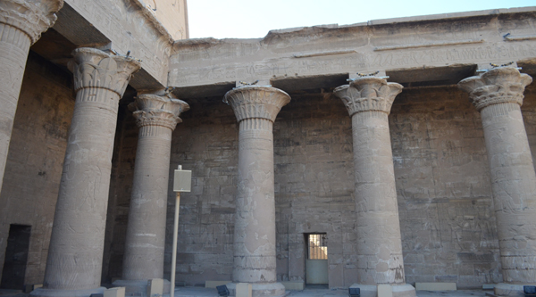 Courtyard of Edfu temple