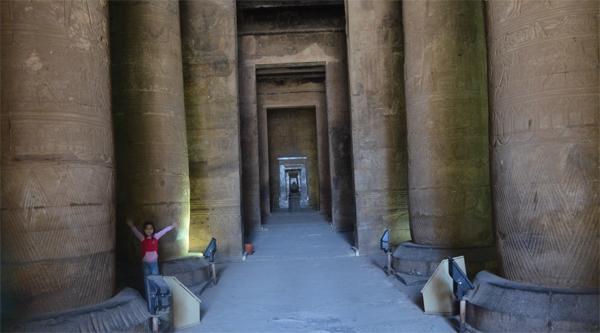 В храме Гора в Эдфу