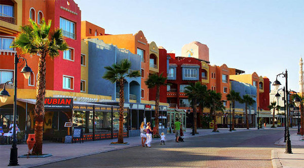 City of Hurghada, Red Sea