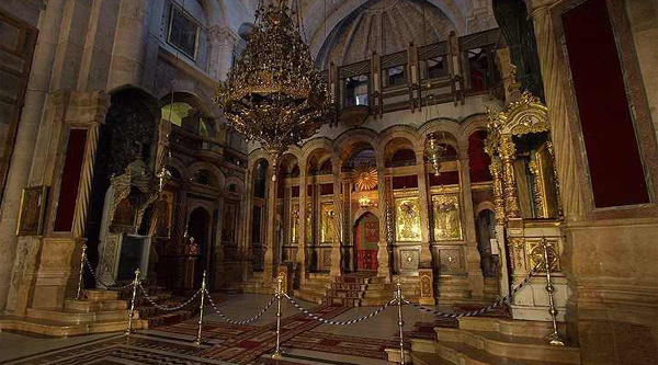 Jerusalem church of the Holy Sepulcher