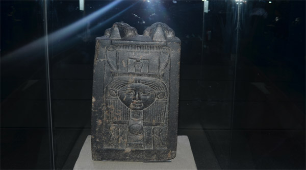 Statue of goddess Hathor.