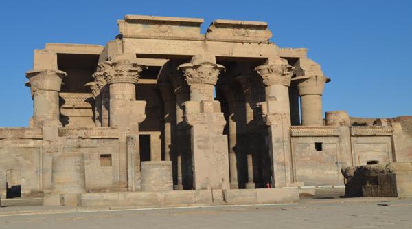 Kom Ombo temple main facade