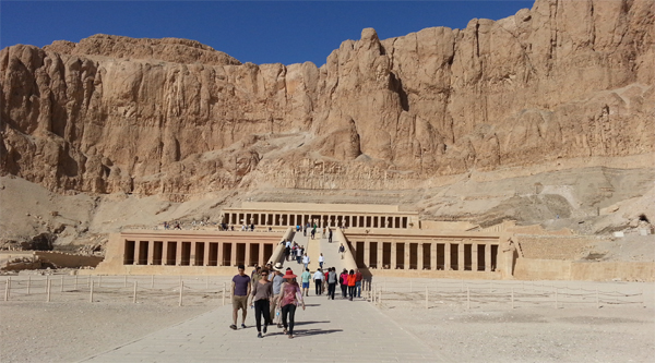 Temple of Queen Hatshepsut, Luxor East bank