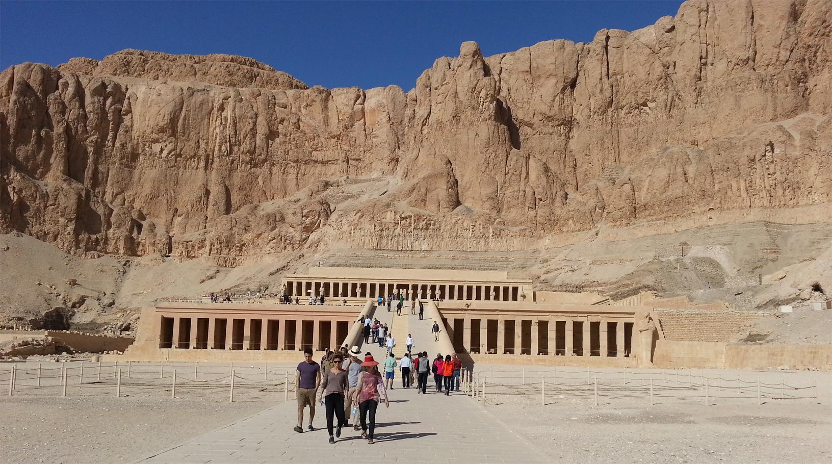 Temple Deir el Bahari Hatshepsout