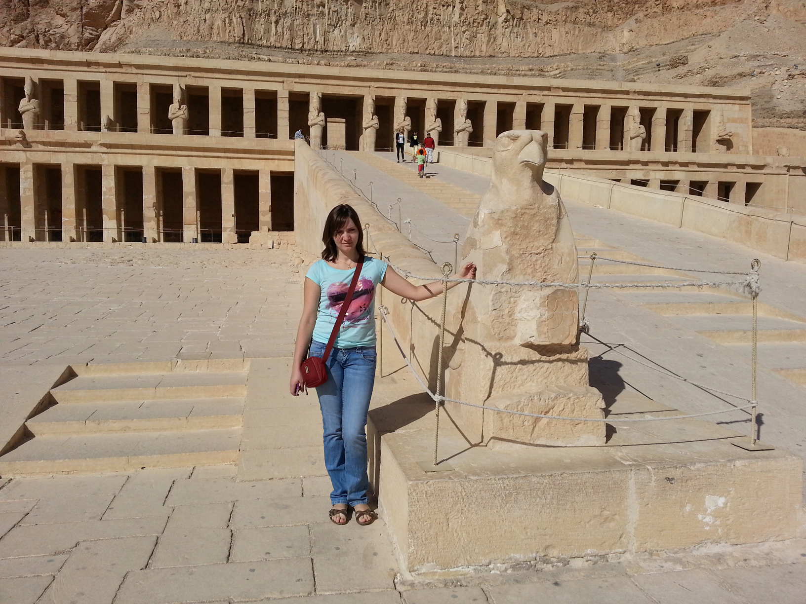 Queen Hatshepsut temple at Deir el-Bahari