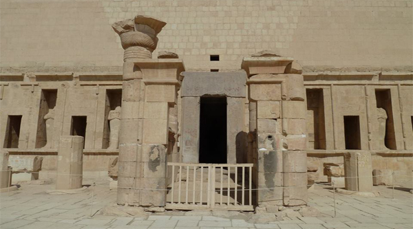 Shrine at Hatshepsut temple