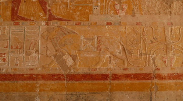 Lion from Hatshepsut temple