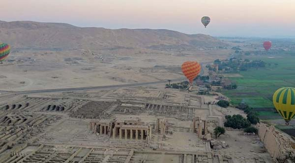 Hot Air Baloon tour in Luxor