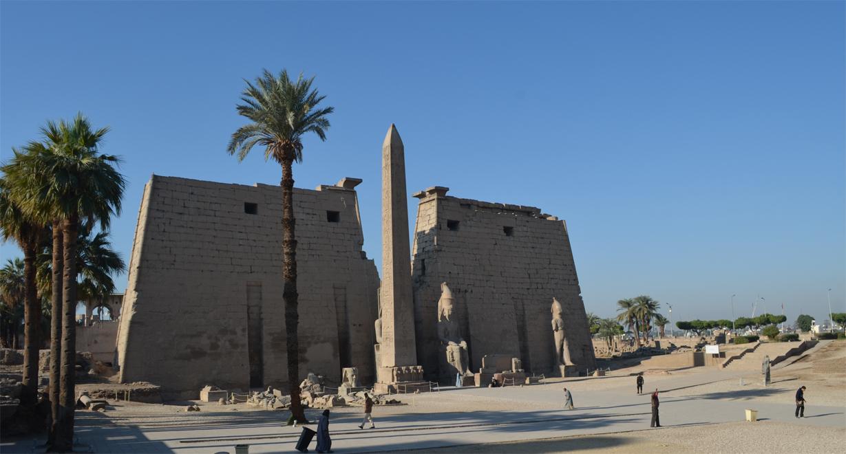 New Memnon Colossi.